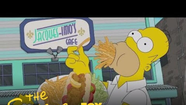 Homer Eats His Way Through New Orleans