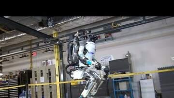 Andie Cooper - Robot doing backflips