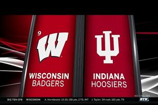Video Highlights: Wisconsin 45, Indiana 17