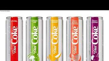 Web News - New Year, New Look for Diet Coke