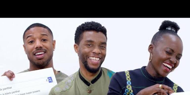 The cast of Black Panther answer some pretty personal questions...