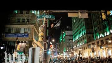 Erika Lauren - Eagles Fans Go Crazy After Superbowl Win