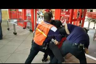 Shoplifter Held at Gunpoint at Target in Van Nuys