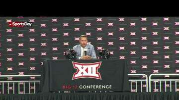 The Sports Buffet - Texas Tech head football coach talks at Big XII media days