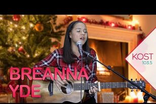 "Breanna Yde's Acoustic Version of ""All I Want For Christmas Is You"""