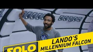 Trending - Donald Glover Goes 'Cribs' On Millennium Falcon