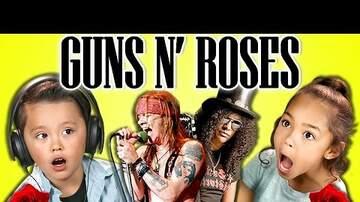 Dave Murphy - Watch kids of today react to Guns N' Roses music