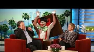 Lia - TV: Finally Revenge on Scare Skit on Ellen Show!