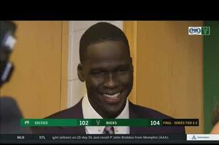 Hear from the Bucks after Game 4 win over Celtics