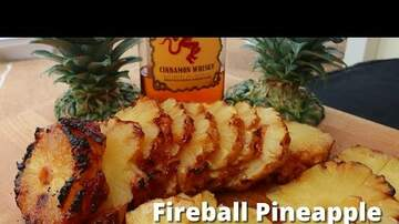 Jillian - #FireballFriday: Grilled Fireball Pineapple