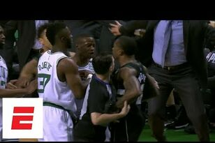 Heated Eric Bledsoe-Terry Rozier rivalry continues