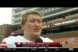 Badgers: Michael Deiter reflects on his first career touchdown