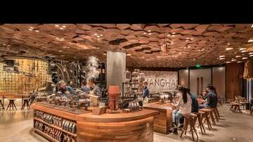 David - World's Largest Starbucks Opens In China