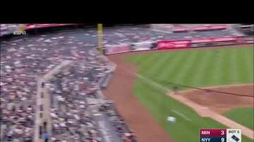 Rocky Boiman - Todd Frazier Foul Ball Hits Child
