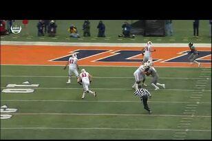 WATCH: Michael Deiter scores a touchdown for Wisconsin