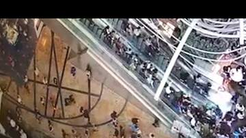 Kat Jackson - At Least 18 Injured When An Escalator Goes Rogue