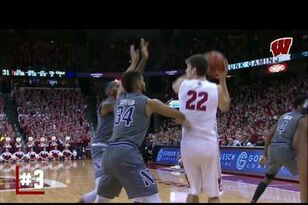 UW MBB: Highlights & Recap: Northwestern 66, Wisconsin 59