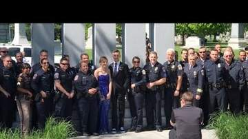#TRENDING - Police Surprise Daughter of Fellow Officer with a Prom Sendoff