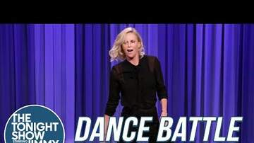 image for Charlize Theron Breaks Out Random Dance Moves On The Tonight Show