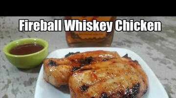 Jillian - #FireballFriday: Fireball Whiskey Grilled Chicken