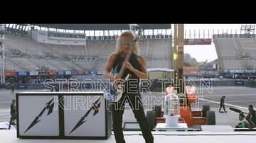Tanner - Metallica's Kirk Hammett Try to Break 'Unbreakable' Guitar Strings