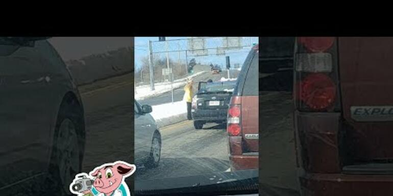 This Lady's Road Rage Goes South Real Quick