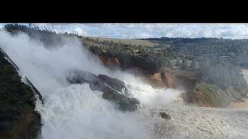 KFBK News - Oroville Dam: Amazing Drone Footage