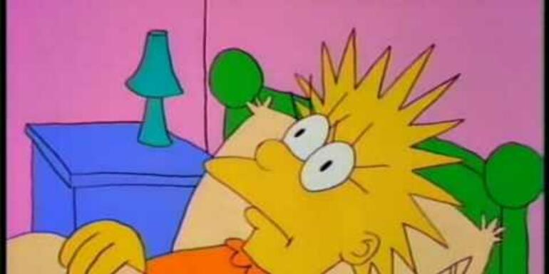 "Watch the 1st Simpsons Episode - A 2 minute ""Short"""