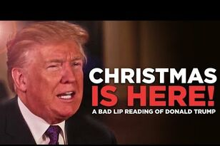 "NEW: ""A Bad Lip Reading"" Of Donald Trump"