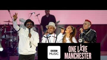 Randi West - Black Eyed Peas perform in Manchester