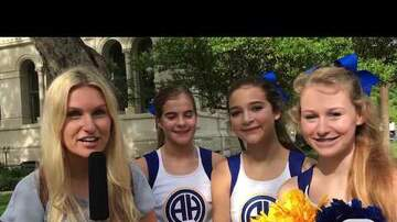 David's Legacy Foundation - Alamo Heights Cheerleaders Support #DavidsLaw