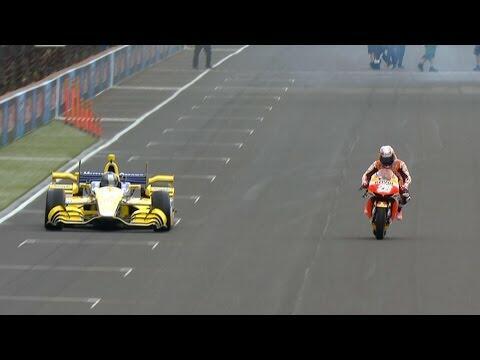 SUNDAY DRIVERS: IndyCar VS Motorcycle - MotoGP Crashes   Don Stuck   Q95