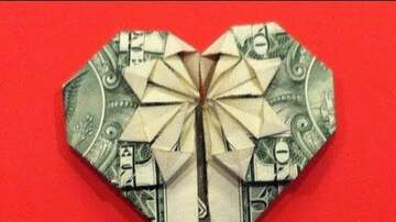 Kimberly - How to Fold a Heart Out of a Dollar