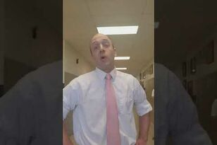 Teacher Break Dances to Get Student to do Math
