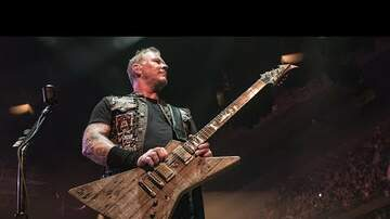 LT - James Hetfield Uses Wood from 80's House For New Guitar