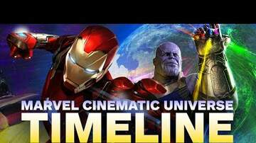 Manny On The Streets - Marvel Cinematic Universe timeline (WATCH)