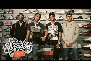 Complex Magazine Goes Sneaker Shopping with Migos