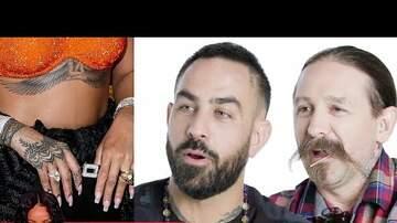 Newman - Tattoo Artists Critique Celebrity Tattoos funny