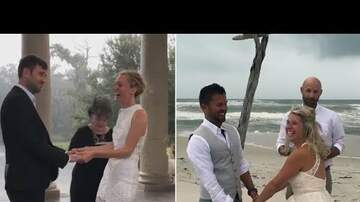 CT The Web Chick - Couples Won't Let Hurricane Nate Stop Their Weddings