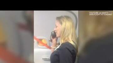 Mike Perry - Southwest Flight Attendant Makes Flying Fun!
