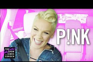 P!nk Takes On 'Carpool Karaoke'