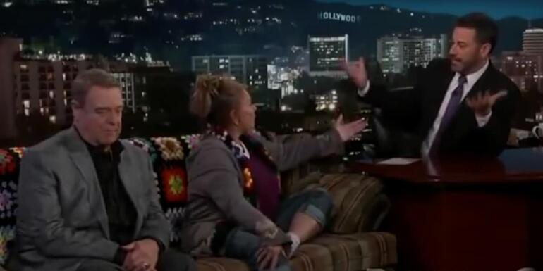 ROSEANNE GOES NUCLEAR: Actress Tells Kimmel to 'ZIP THAT F***ING LIP' On LIVE TV