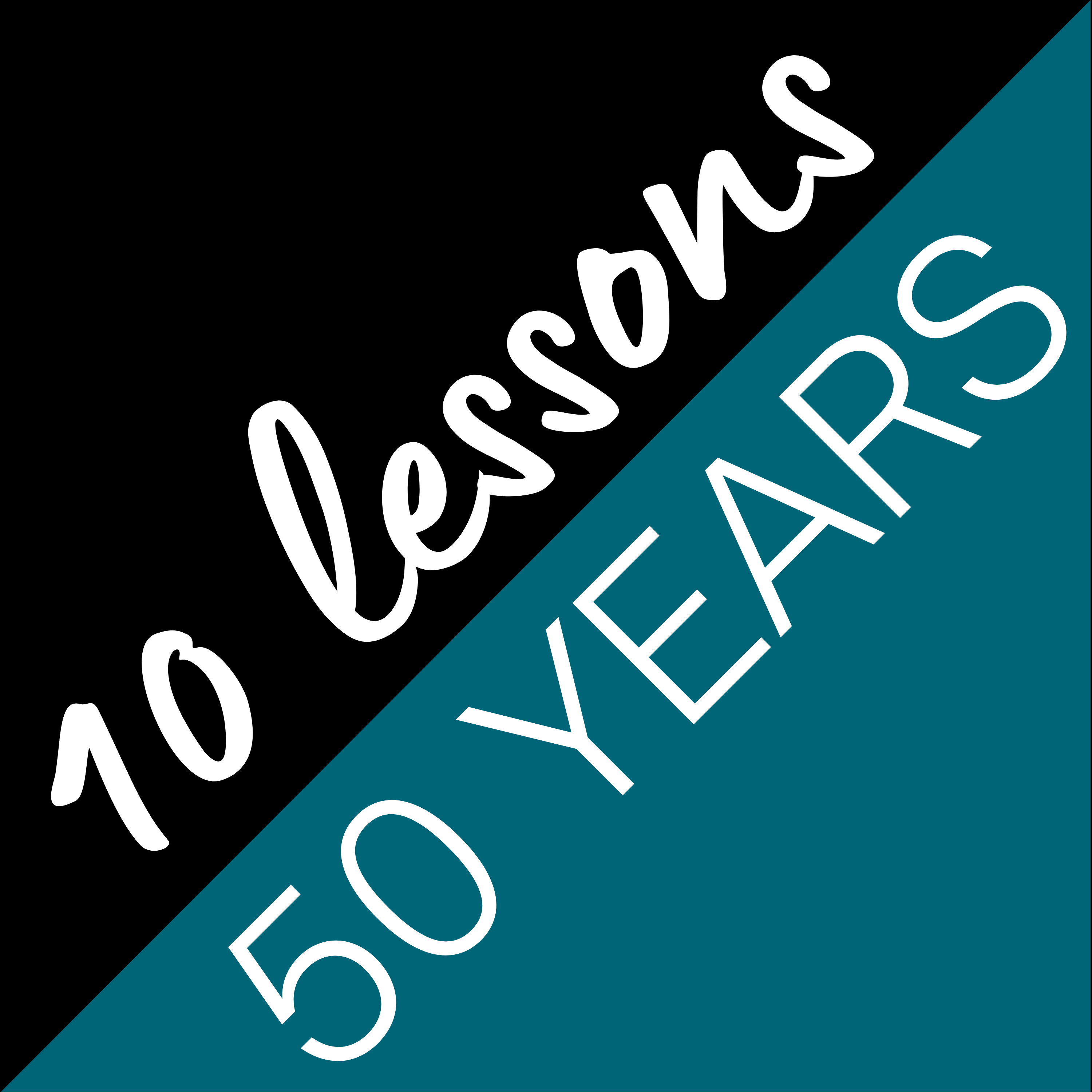 10 Lessons it Took me 50 Years to Learn