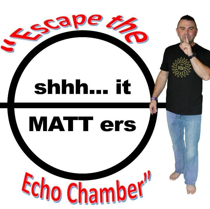 shhh... it MATT ers by Matt Logan Speaks