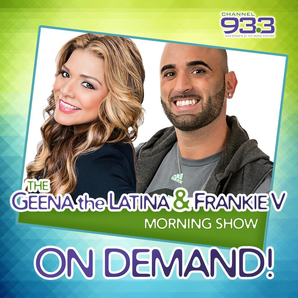 Geena the Latina & Frankie V Morning Show