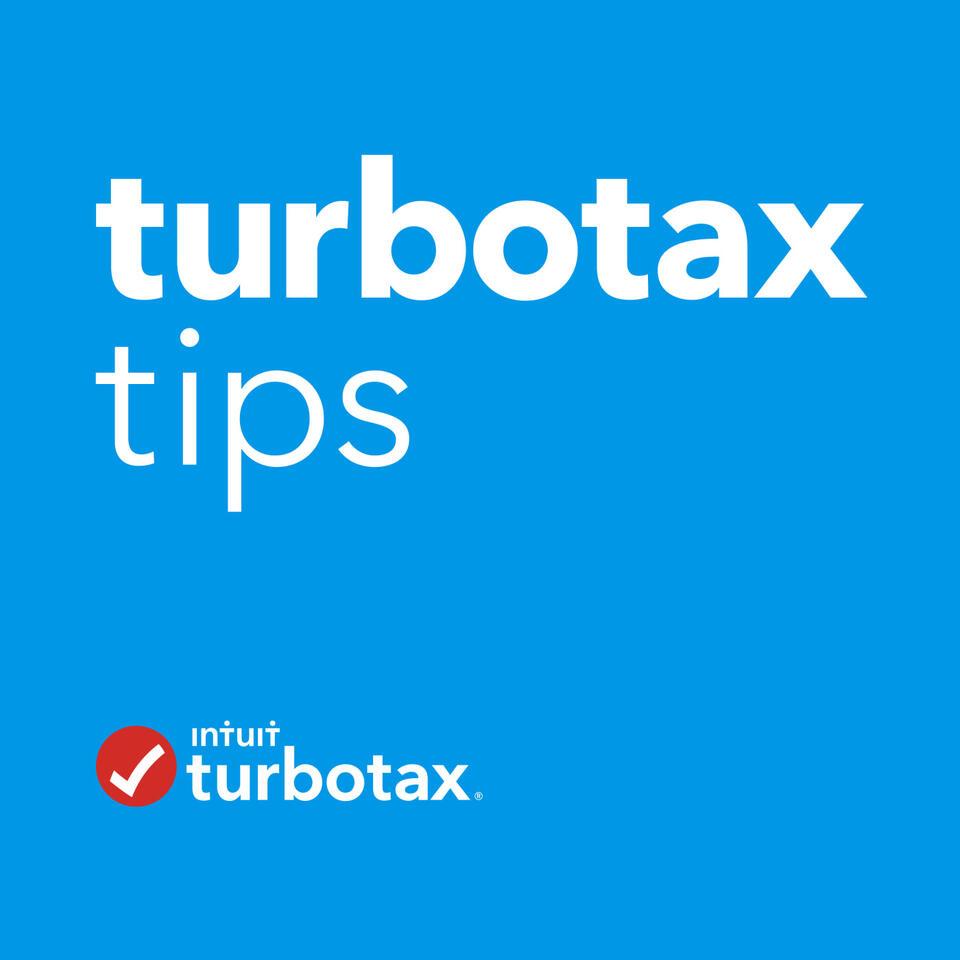 TurboTax Tips