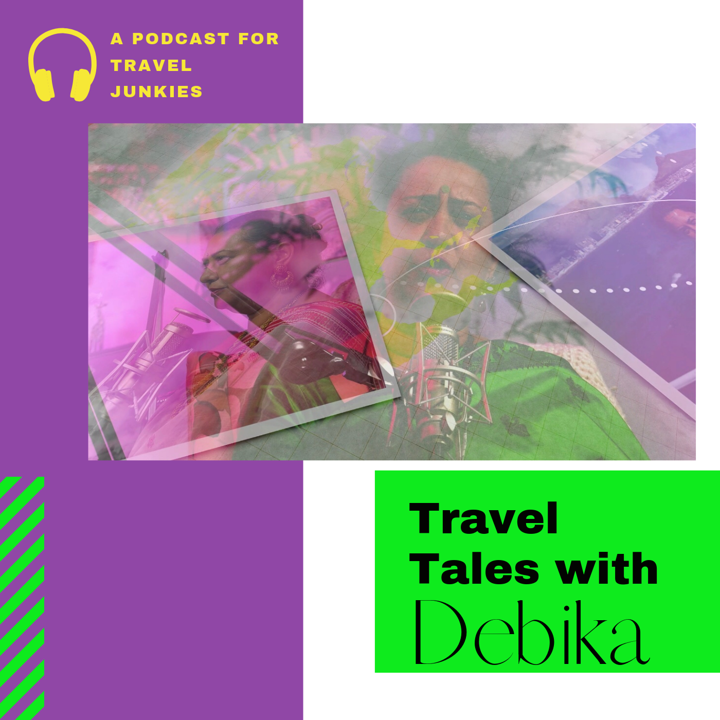 Travel Tales With Debika Podcast
