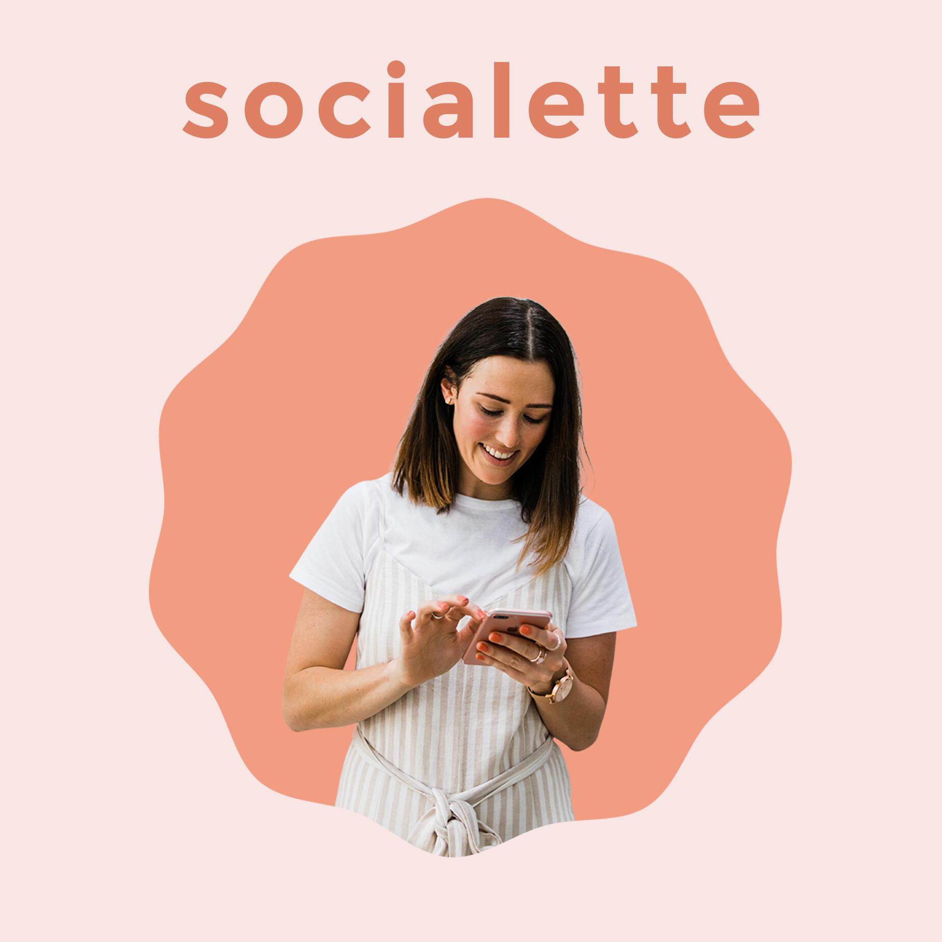 Socialette: Bite-Sized Online Marketing Podcast