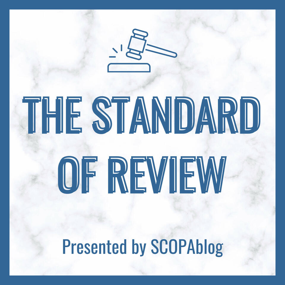 The Standard of Review