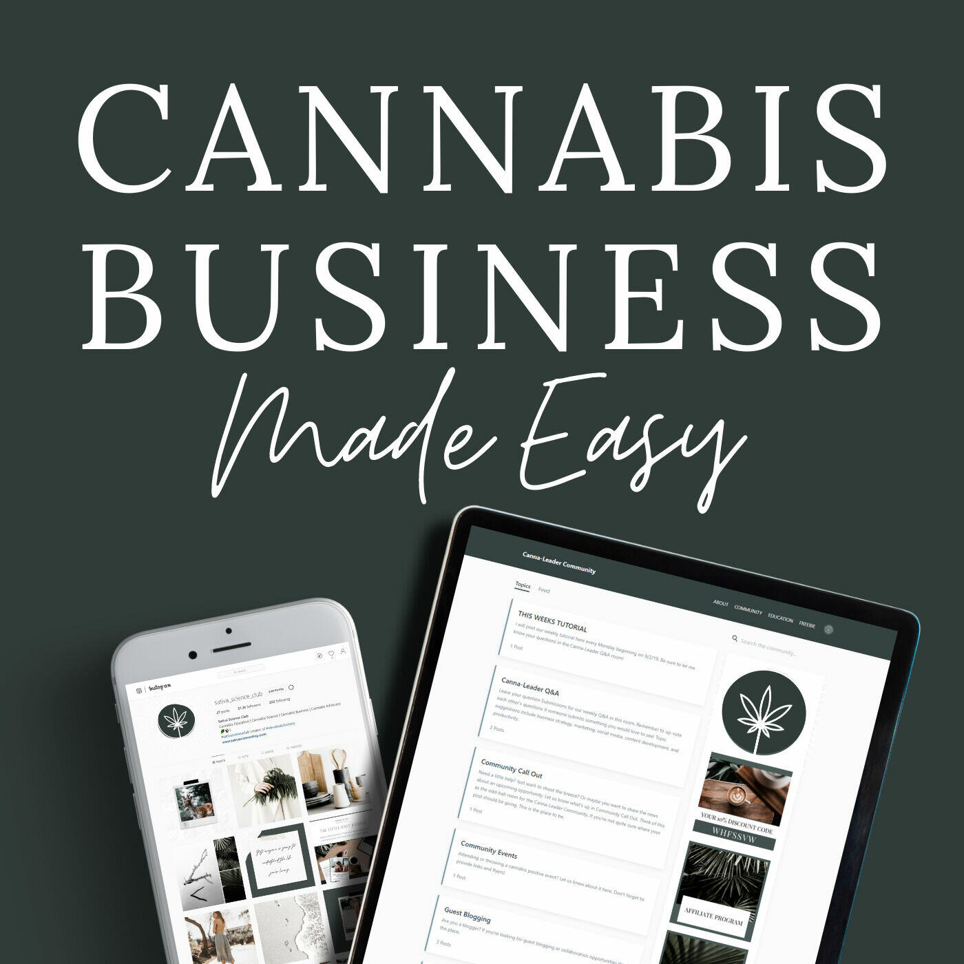 Cannabis Business Made Easy